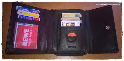 RFID-NFC Geldbörse Damen