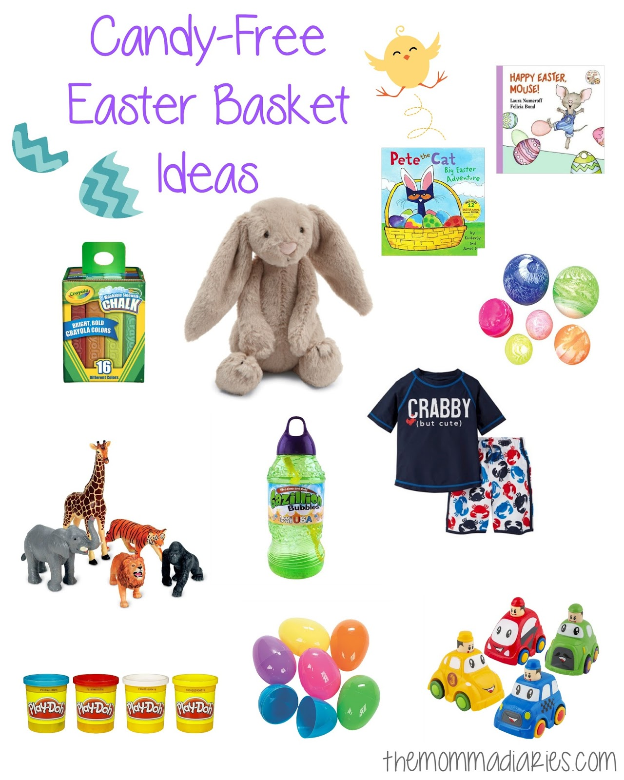 Candy free easter basket ideas the momma diaries candy free easter basket ideas negle Gallery
