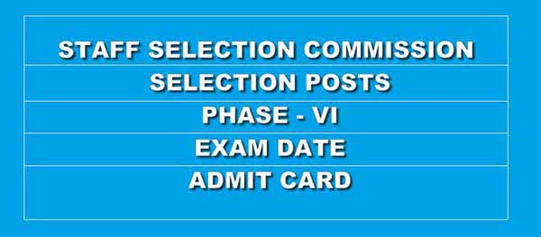 Download SSC Selection Posts Phase