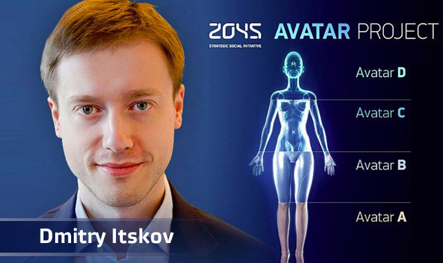 Dmitri Itskov, Immortality, Avatar Project, 2045