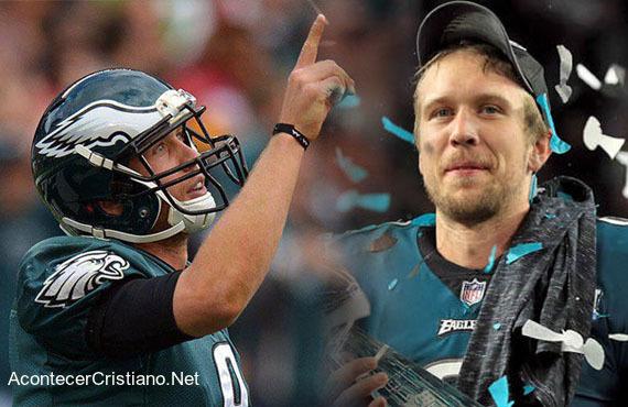 Jugador de fútbol americano glorifica a Dios