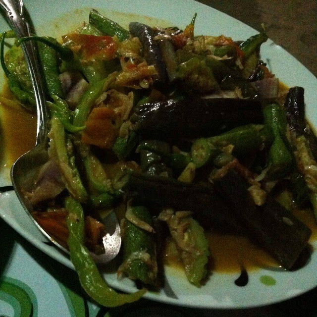 Pinakbet menu at Marites Homestay and Restaurant in Pagudpud