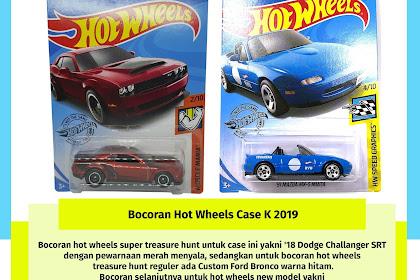 Bocoran Hot Wheels Case K 2019