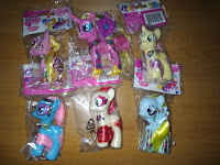 MLP Fake Bagged Ponymania Brushables