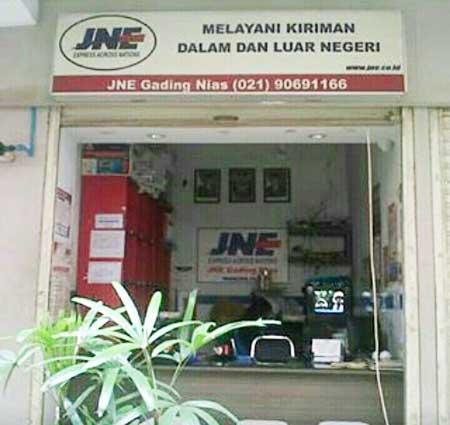 Telepon & Lokasi Kantor Cabang JNE Jakarta Utara