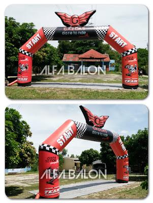 Balon Gate Gaz Gas