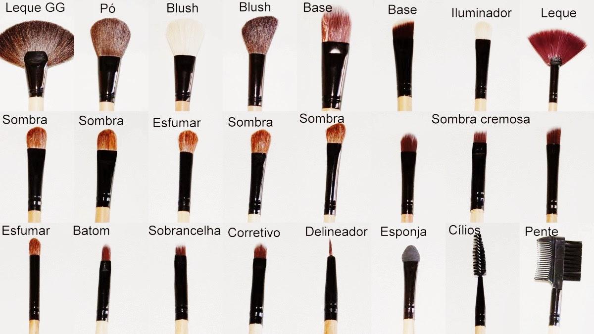 Para Que Serve Cada Pincel De Maquiagem