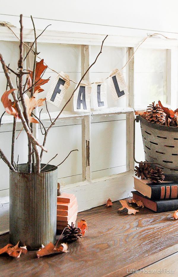 Nature inspired fall vingette