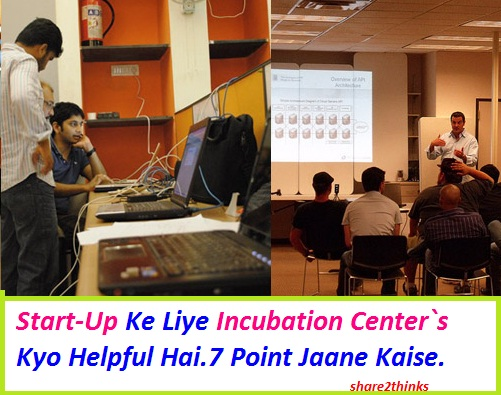 Start Up Ke Liye Incubation Center Kyo Helpful Hai