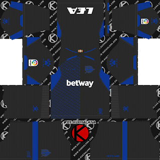 Deportivo Alavés 2018/19 Kit - Dream League Soccer Kits