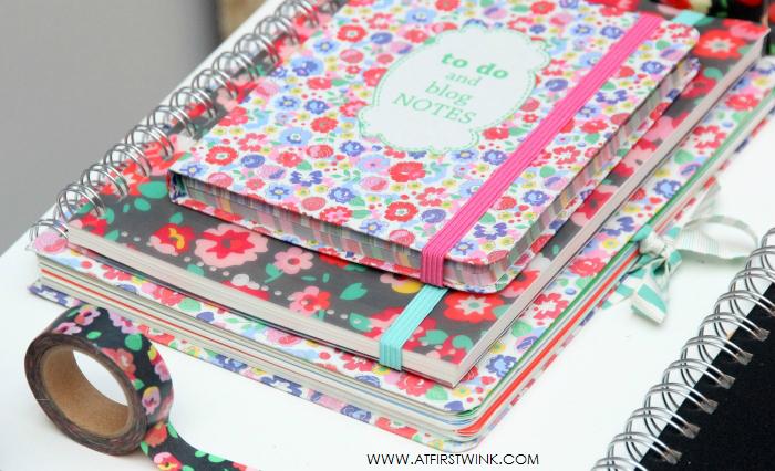 HEMA bloemenprint notitieboekjes