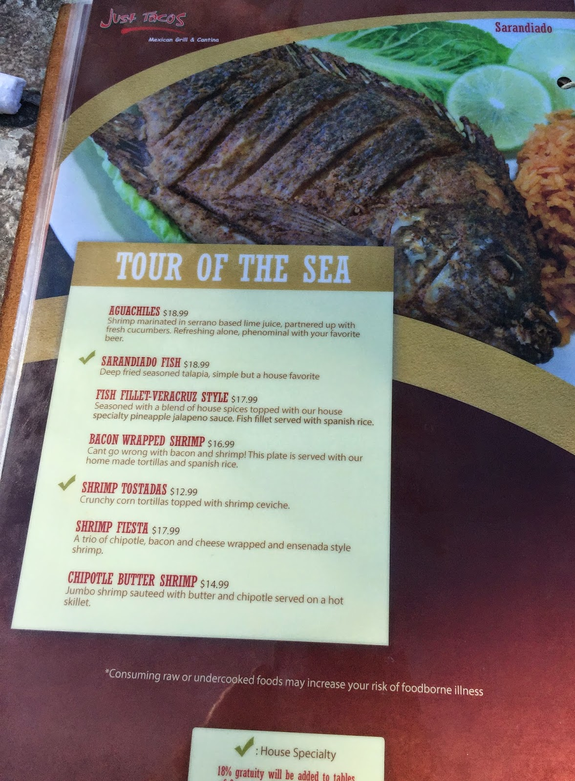 TASTE OF HAWAII: JUST TACOS MEXICAN GRILL AND CANTINA