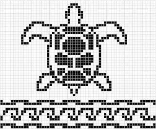 WitchWolfWeb Creations Charts: Sea Turtle Chart