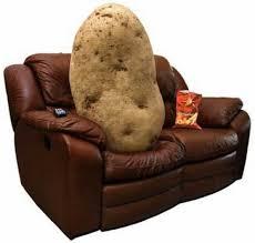 couch potato atau kantung kentang