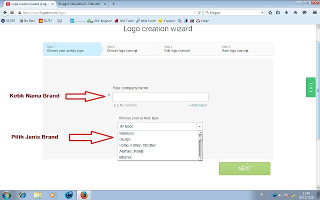 Logaster, Tempat Gratis Mendesain Logo Untuk Membranding Produk Sekelas Pro
