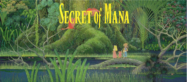 Secret of Mana - Título encabezado