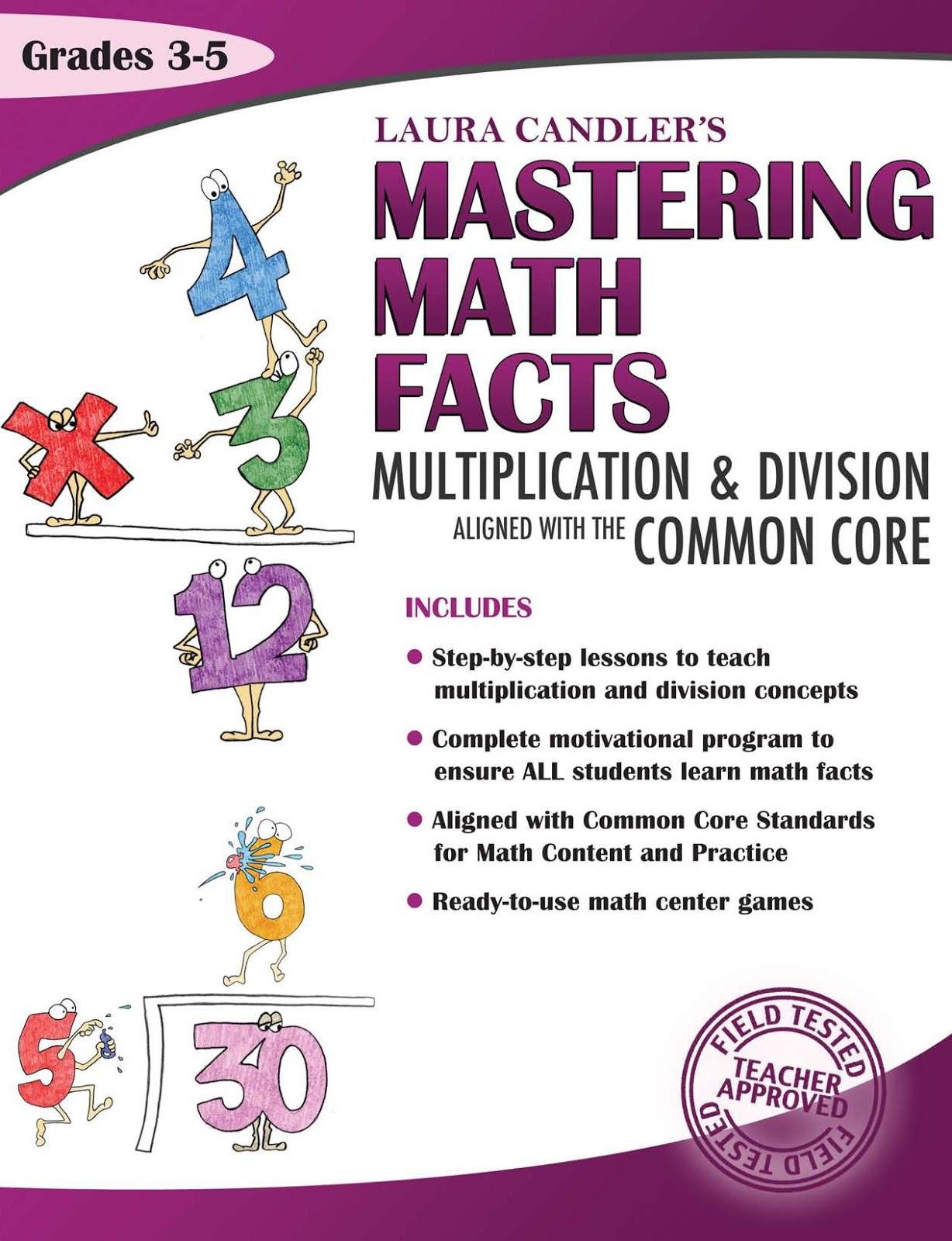 Courtney Mann Etc Mastering Math Facts Multiplication