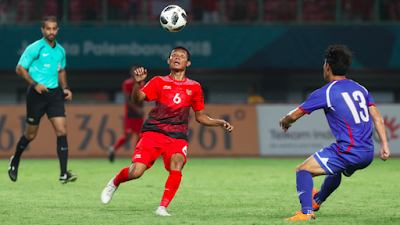 Timnas Indonesia U-23 Hajar Taiwan 4-0 di Asian Games 2018