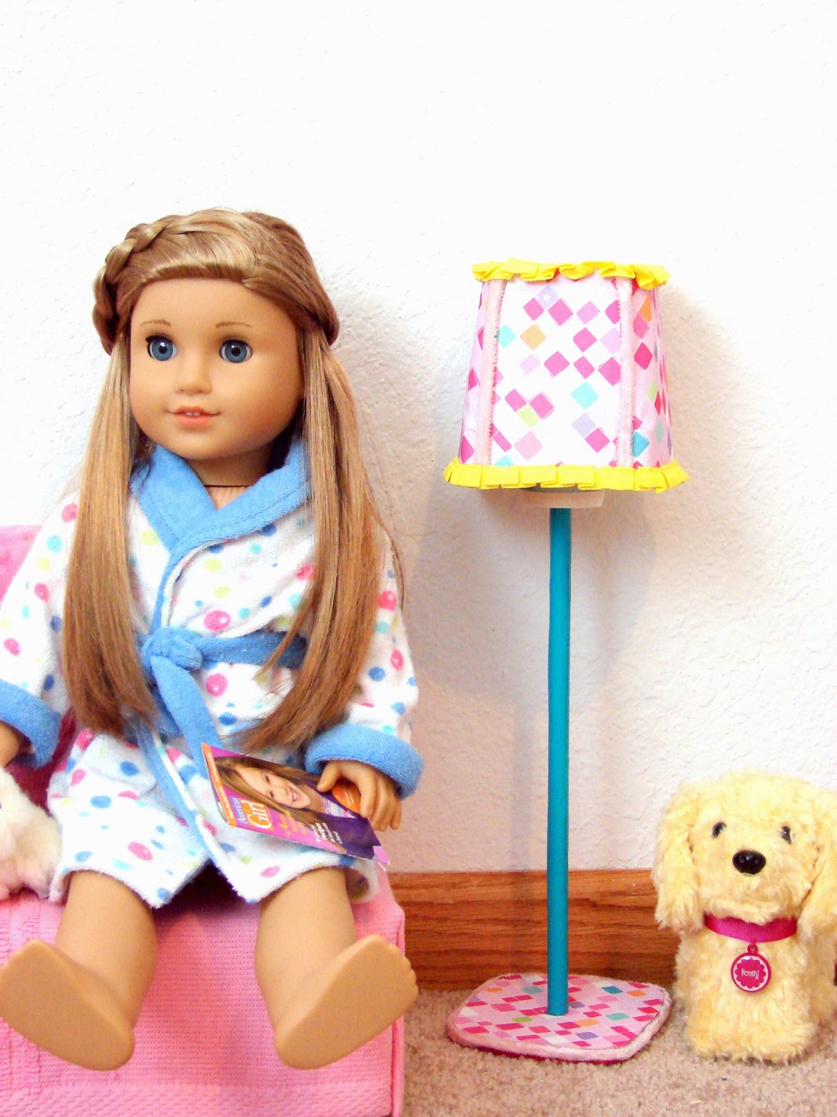 american girl doll crafts american doll play doll craft make a standing lamp 3335