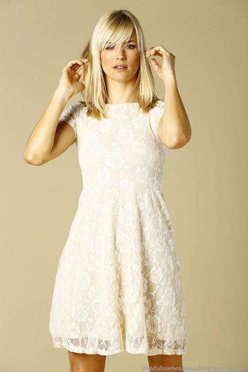 686f874267 Vestidos cortos primavera verano 2015. La moda de vestidos para Primavera Verano  2015 cuenta con muchos modelos en los que parece que se imponen los diseños  ...