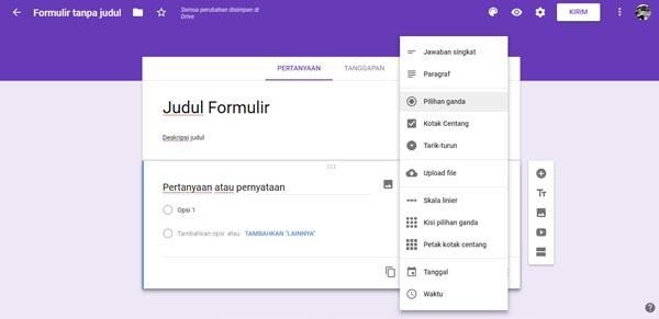 contoh link google form