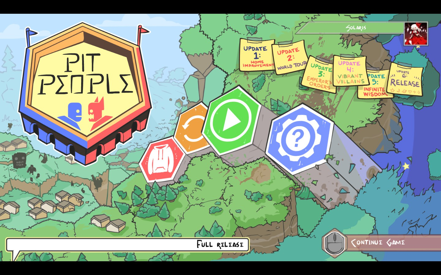 Pit people pc review chalgyrs game room hello glorious adventurer and welcome to the world of pit people brought to you by the behemoth those same wonderful people that brought us castle gumiabroncs Image collections
