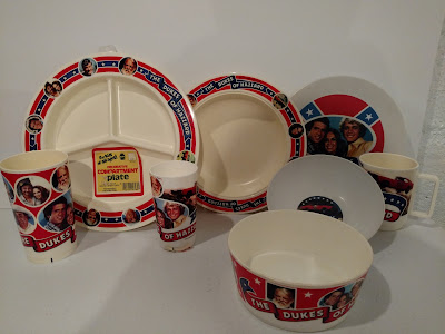 Deka Dukes of Hazzard Dinnerware - Mugs, Cups, Bowls, and Plates