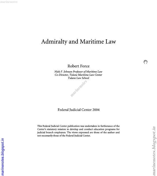 Maritime law final exam essay Custom paper Example - April 2019