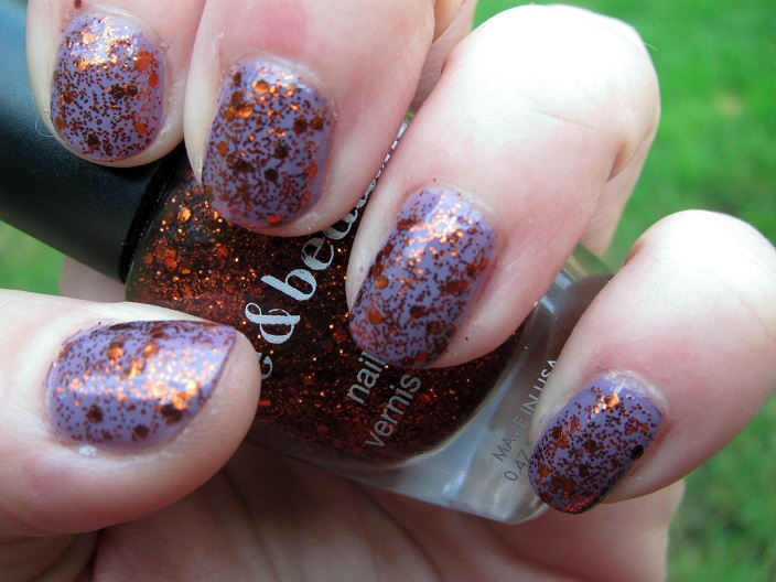 Nibble Files: A Nail Biter's Blog: Purple and Orange ...