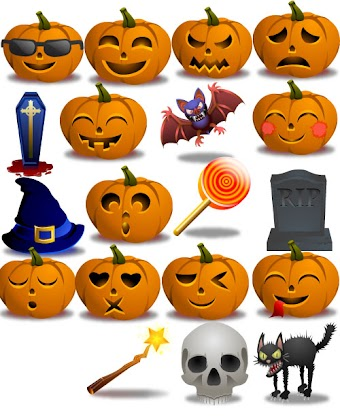 Halloween Icons by zeusboxstudio.com