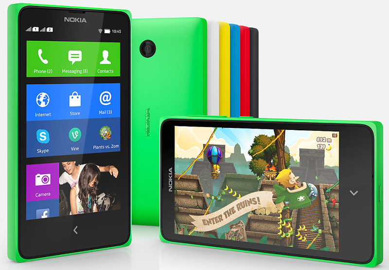 Ponsel Android Nokia