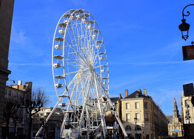 Ferris wheel in Reims, France