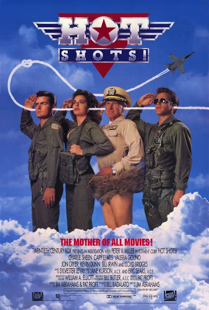 Hot Shots 1991 movie poster