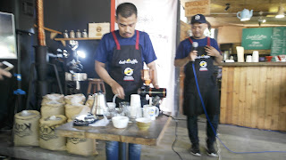 cupping di lostin coffee