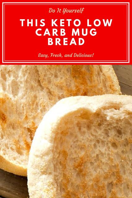 This Keto Low Carb Mug Bread  #MugBreadReceipes  #LowCarbMugReceipes  #KetoLowReceipes