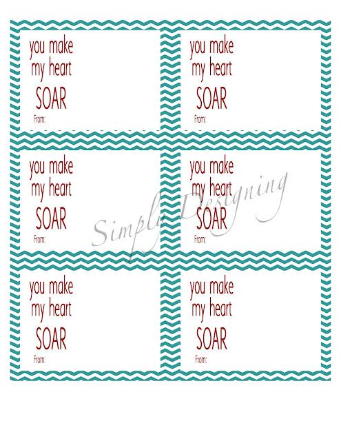 you make my heart soar generic 01a You Make My Heart SOAR Valentine {Free Printable} 8