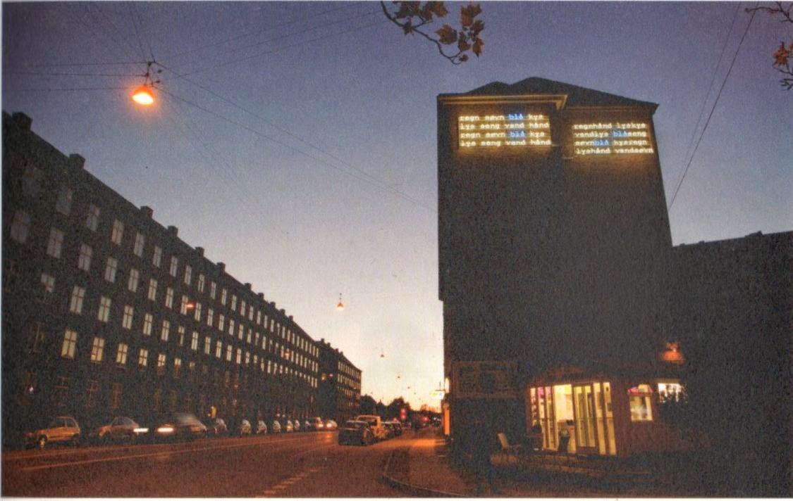 8a9555c7c46 Digt af Søren Ulrik Thomsen på Herman Bangs Plads | Valby og ...