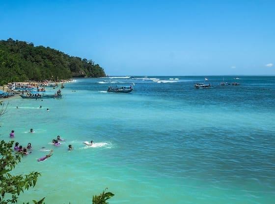 Pananjung Located