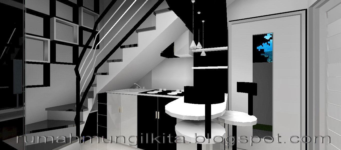 dapur di bawah tangga