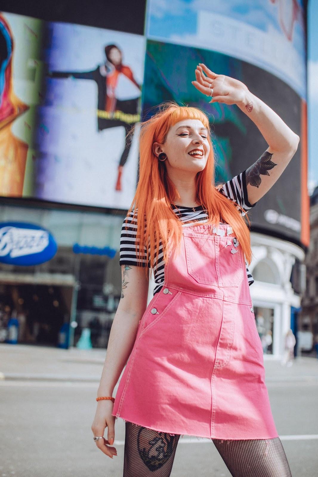 Alternative Fashion Blogger Foxxtailz Styles Punky Pins