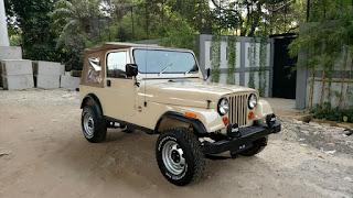 BURSA MOBIL BEKAS : Dijual CJ7 1980
