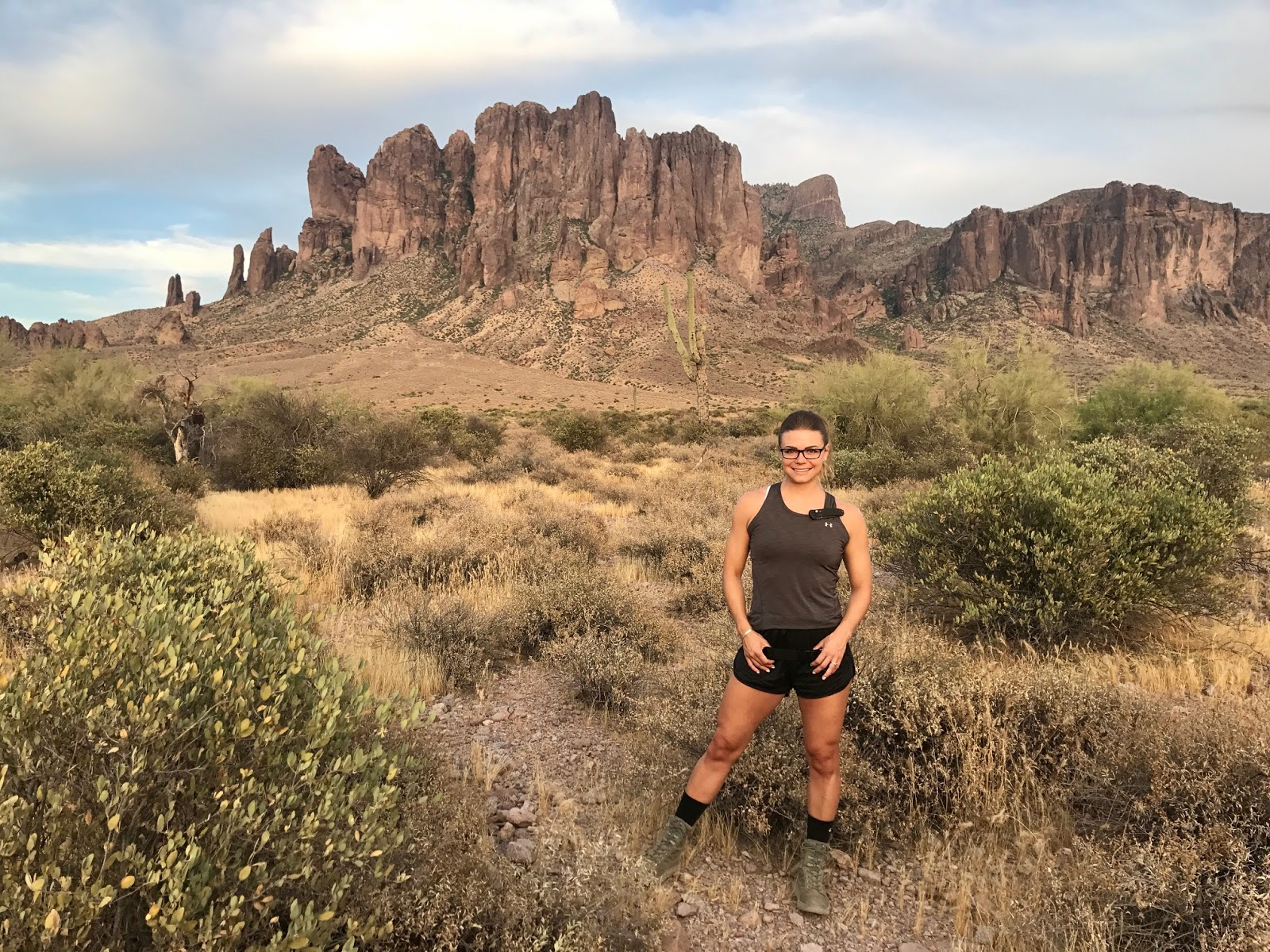 Siphon Draw Trail, Lost Dutchman State Park, Superstition Mountains, Apache Trail