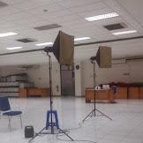 Proses Pengambilan Gambar Pasfoto Karyawan Bank BRI Kramat-Jakarta