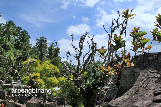 taman purbakala waruga sawangan airmadidi minahasa sulawesi utara