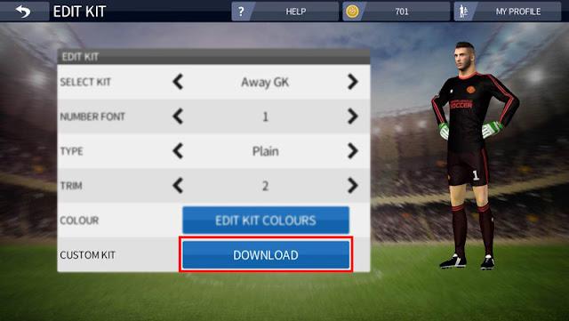 Import Kit In Dream League Soccer 2016