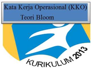 Kata Kerja Operasional (KKO) Teori Bloom