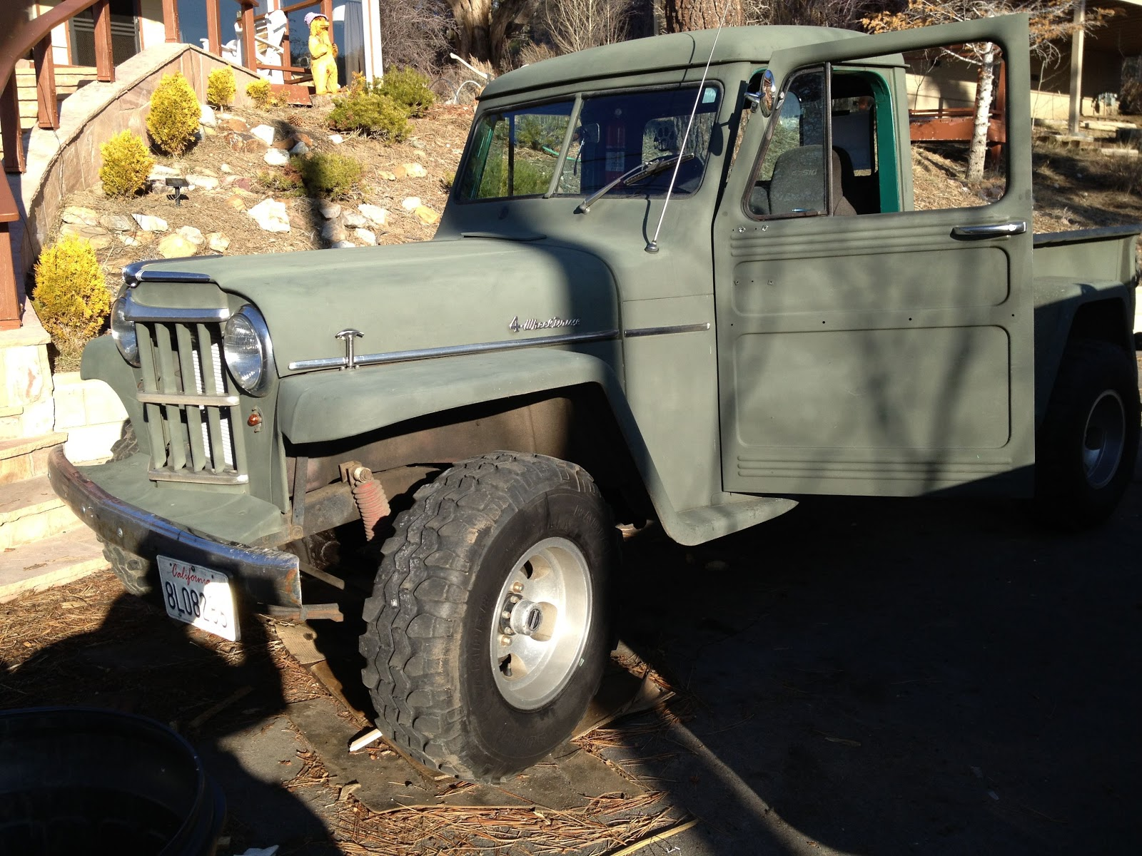 1959 classic willys pick up truck for sale for sale classic 1959 willys 4x4 pickup truck for sale. Black Bedroom Furniture Sets. Home Design Ideas