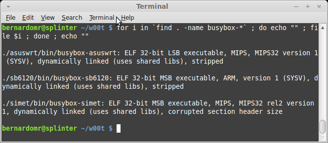 w00tsec: Analyzing and Running binaries from Firmware Images - Part 1