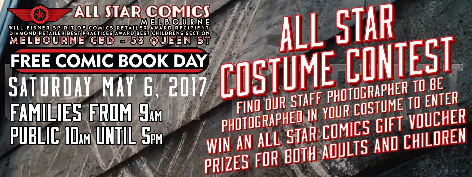 All Star Comics Melbourne: FREE COMIC BOOK DAY ALL STAR