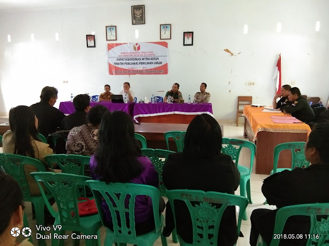 Panwaslu Toraja Utara Gelar Rapat Koordinasi Dengan Mitra Kerja Panitia Pemilu